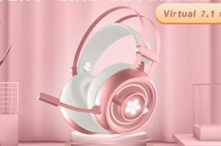 New Arrivals 2021 gaming headset for girl